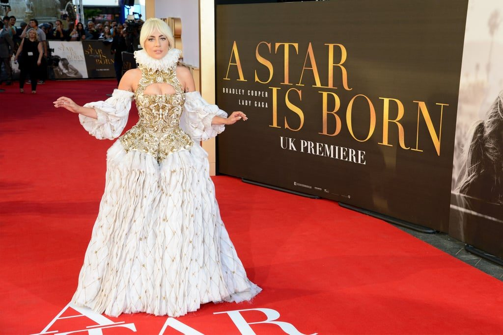 Lady-Gaga-Alexander-McQueen-Dress-Star-Born-Premiere-Full-HD-Pictures