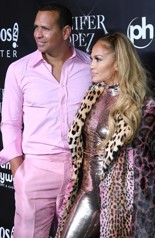 Alex Rodriguez and Jennifer Lopez HD Images