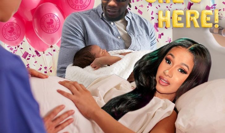 First Look First Shot Of Cardi B And Offset S Daughter Read The
