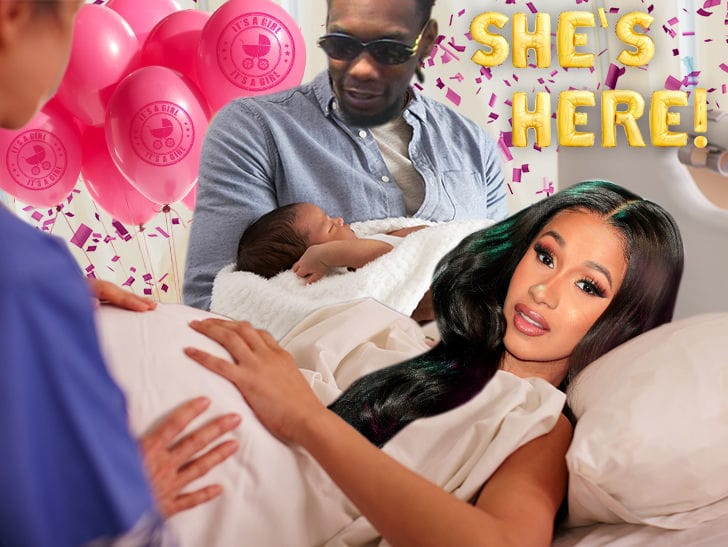 First Look First Shot Of Cardi B And Offset's Daughter
