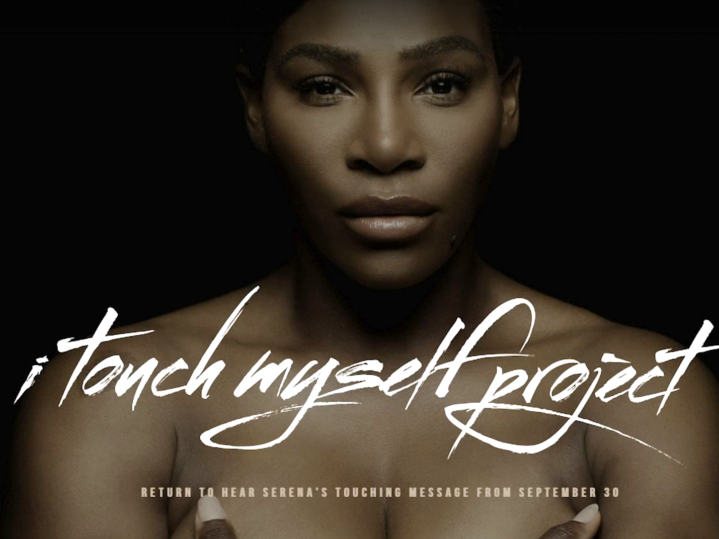 'I Touch Myself' For Breast Cancer Awareness Song By Serena Williams