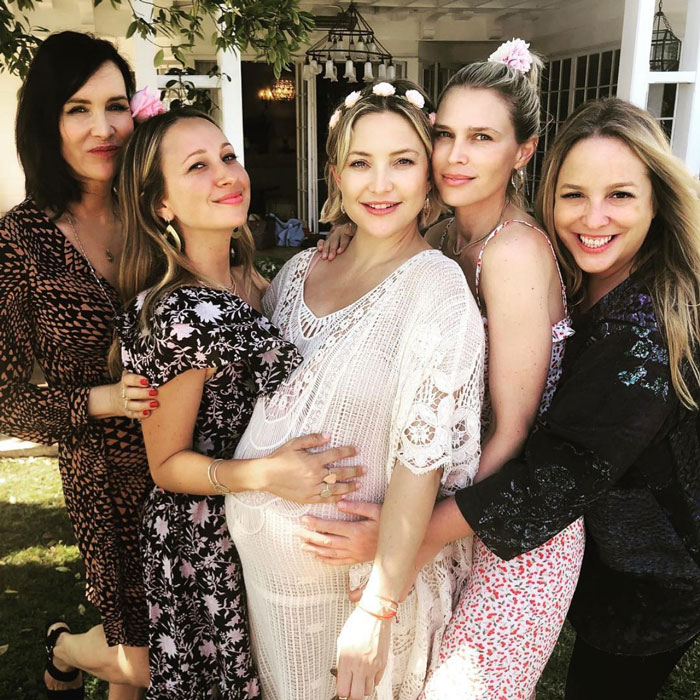 Kate Hudson And Danny Fujikawa Welcomed To Their Baby Girl