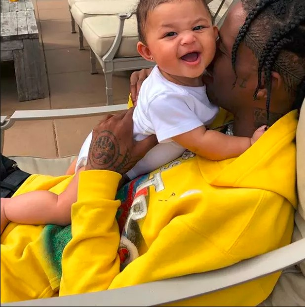 Kylie Jenner's Cute Stormi With Her Dad