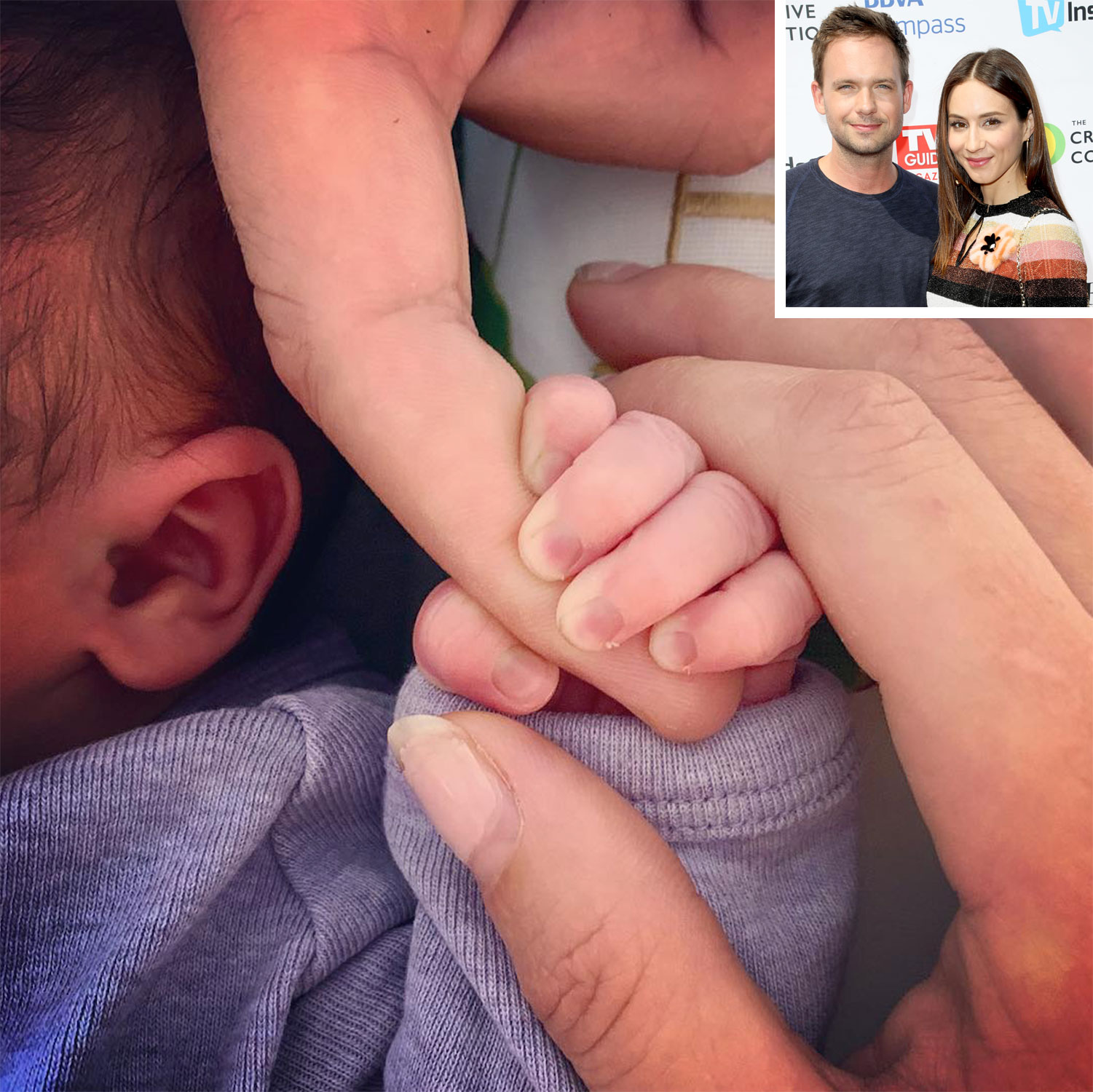 Patrick J. Adams & Troian Bellisario Became Parents After The Birth Of Their 1st Baby Girl